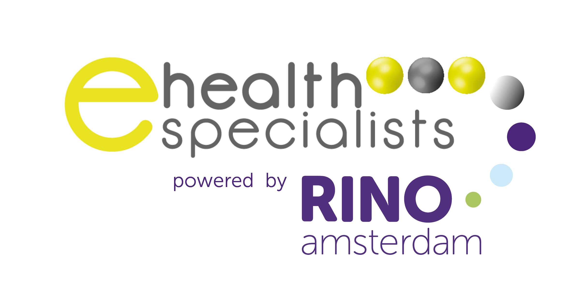 logo samenwerking RINO amsterdam en Ehealthspecialists